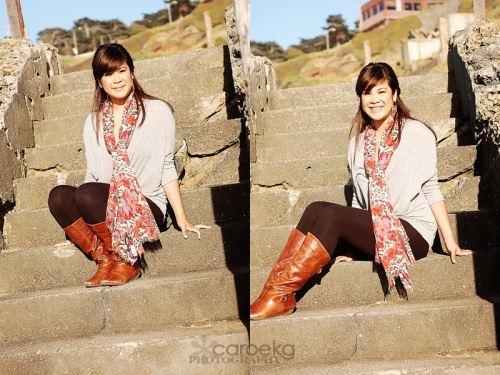 san francisco senior portrait photographer sutro baths photo shoot bay area teen photographer
