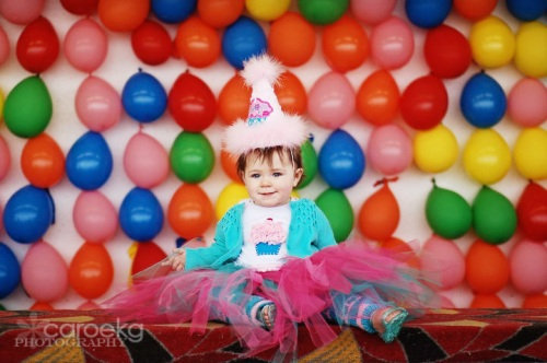 san francisco child photographer, kids' carnival portrait, balloon portrait