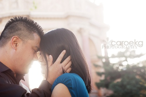 san francisco engagement photographer palace of fine arts engagement pictures